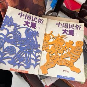 中国民俗大观(上下)