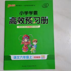 小学学霸高效预习册:语文六年级上(统编版)