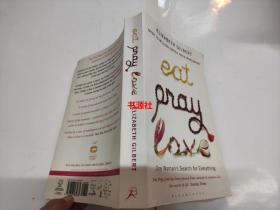 【英文原版】EAT PRAY LOVE【大32开】