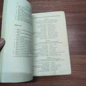 莎士比亚戏剧的故事2 stories of shakespeares plays 2--74年出版-英文
