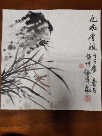 当代金华名家朱佩军花卉册页8开