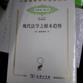 汉译世界学术名著丛书:现代法学之根本趋势(纪念版)