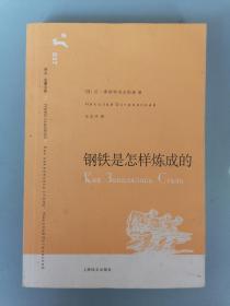 译文名著文库37 《钢铁是怎样炼成的》(王志冲译,一版一印)