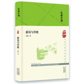 大家小书-新诗与传统(精)
