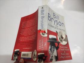 BILL BRYSON THE COMPLETE NOTES【大32开】包中通快递