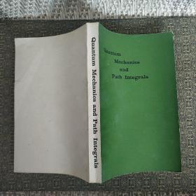 量子力学与路径积分(英文版)美.R.P.费曼 A.R.希布斯 著【实物拍照】