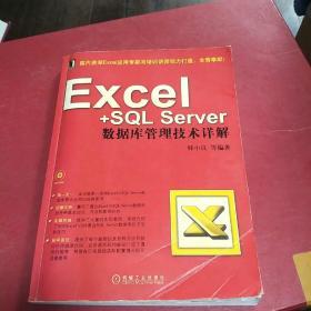 Excel+SQL Server数据库管理技术详解