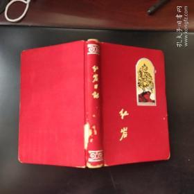 插图版 老笔记本  红岩日记  内无笔记