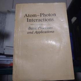 Atom-Photon Interactions Basic Processes and Applications (原子-光子相互作用)