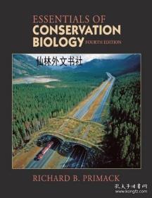【包邮】Essentials of Conservation Biology, Fourth Edition