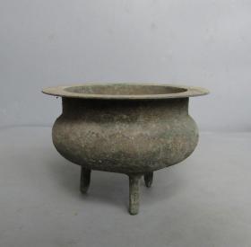 建国初小铜炉