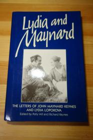 凯恩斯与莉迪娅的通信 美貌与智慧的结合 宏观经济学之父与著名芭蕾舞者  Lydia and Maynard: The Letters of Lydia Lopokova and John Maynard Keynes