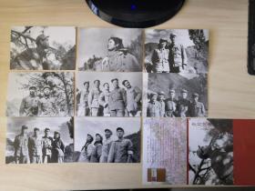 著名作家、《小兵张嘎》之父、原河北文联主席 徐光耀  《岁月风采——小兵张嘎之父徐光耀抗美援朝影像》明信片一套8枚