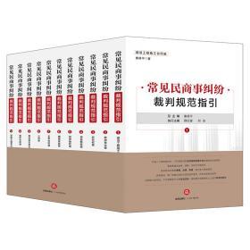 促销书-常见民商事纠纷裁判规范指引全11卷