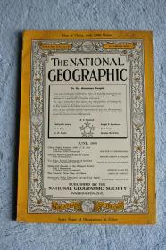1945年6月号美国国家地理杂志,大量40年代甘肃四川青海影像以及山东泰山的专题报道, 二战中印公路通车等。。