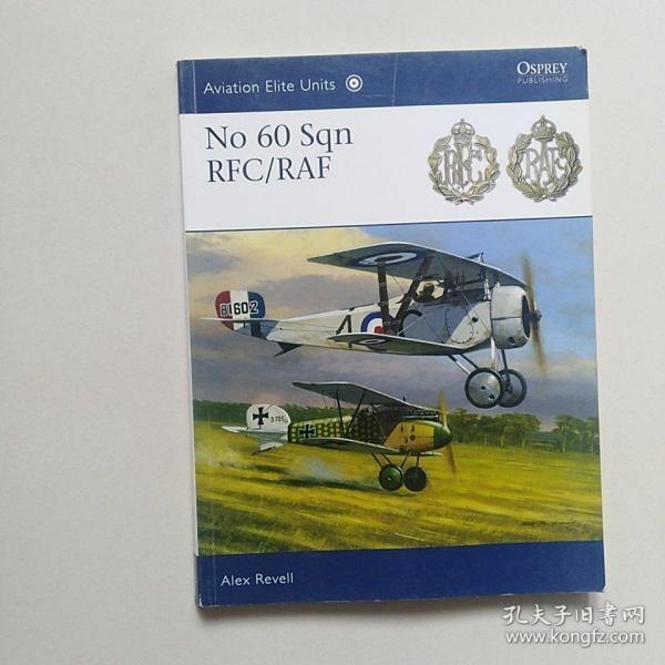 英文原版 No 60 Sqn RFC/RAF 英国皇家空军