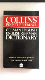 Collins Pocket Reference German Dictionary 外文原版