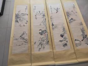 边寿民,扬州八怪之一,四条平,保手绘,买家自鉴