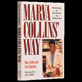 【中商原版】Marva Collins Way 马文柯林斯的教育方法英文原版 亲子育儿书籍