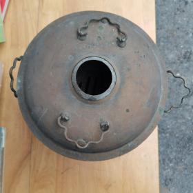 铜火锅,重1.59公斤