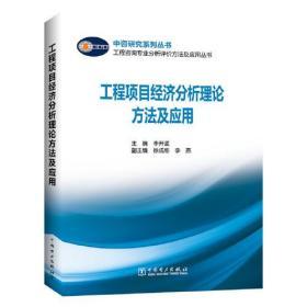 工程咨询专业分析评价方法及应用丛书 工程项目经济分析理论方法及应用