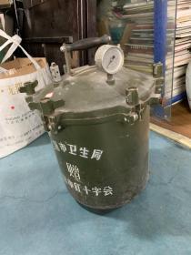 上海市卫生局赠上海市红十字会 烧水锅炉或医用消毒器材
