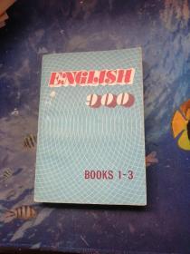 ENGLISH 900 B00KS 1-3