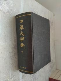 中华大字典(下)