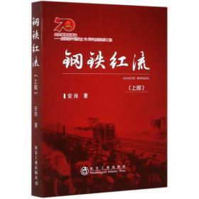 钢铁红流(上部) 中国现当代文学 安岗 新华正版