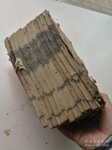 木刻,四书经注集证十一册,嘉庆丙子年刻本,版本好。