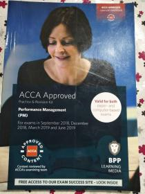 正版 ACCA Approved, Pratice and Revision Kit. Performance Management(PM). For exams from September 2018 to June 2019 9781509716678