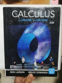 英文原版 微积分 高等数学 Calculus  Ron Larson    Bruce Edwards