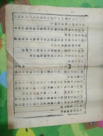 乾隆版庐山志古籍散页一页