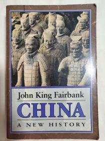 john king fairbank china a new history【精装16开本见图】外文版