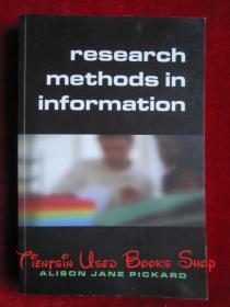 Research Methods in Information(英语原版 平装本)信息研究方法