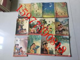 六年制小学课本语文第一册至十二册【全12册】
