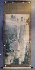 白雪石,八十年代保真手绘作品,品相一般