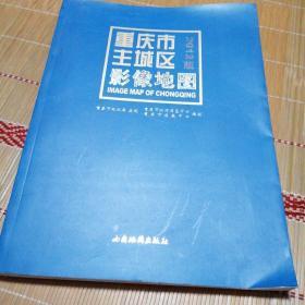 重庆市主城区影像地图