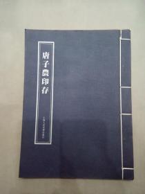 唐子农印存、作品集、画集、画册、油画、画展、图录、速写