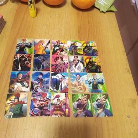 奇多三国群英时空魔幻卡 43张有一张西游记,有几张重复,看图下订单