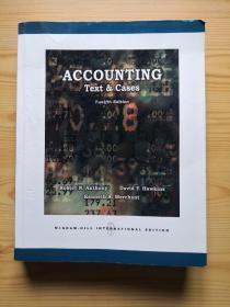 Accounting Text & Cases