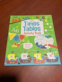 Usborne Times Tables Activity Book