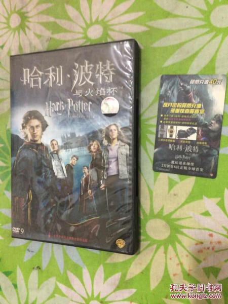 哈利波特与火焰杯(DVD)