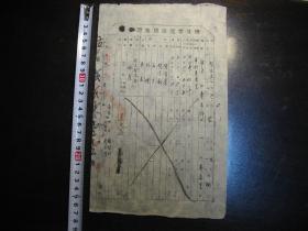 1950年陕甘宁边区房窑证(民国版)