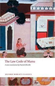[全新进口原版现货]牛津世界经典系列:吉诺比利法典The Law Code of Manu (Oxford World's Classics)9780199555338