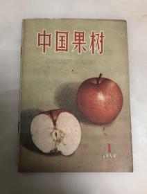中国果树创刊号 1959第一期【16开老版本,品相好】