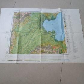 中国地貌图   J一50(北京)