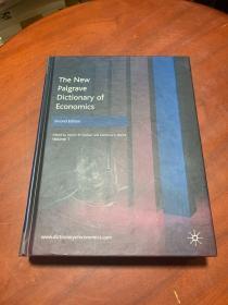 The New Palgrave Dictionary of Economics (Second Edition) Volume 1  馆藏 【新帕尔格雷夫经济学词典(第二版)第1卷馆藏】