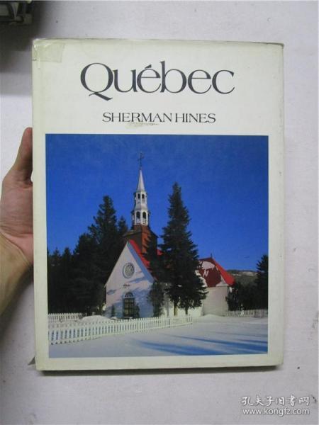 大16开英文原版 Québec (加拿大魁北克)