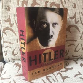 Hitler a biography by Ian Kershaw 伊恩·克肖《希特勒传》平装一卷本 厚重